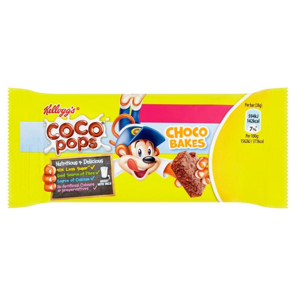 Kelloggs Coco Pops Choco Bakes 38g