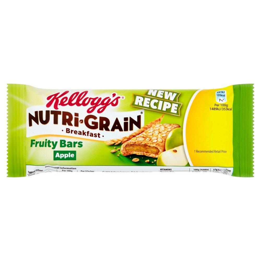 Kelloggs Nutri Grain Breakfast Fruity Bars Apple 37g