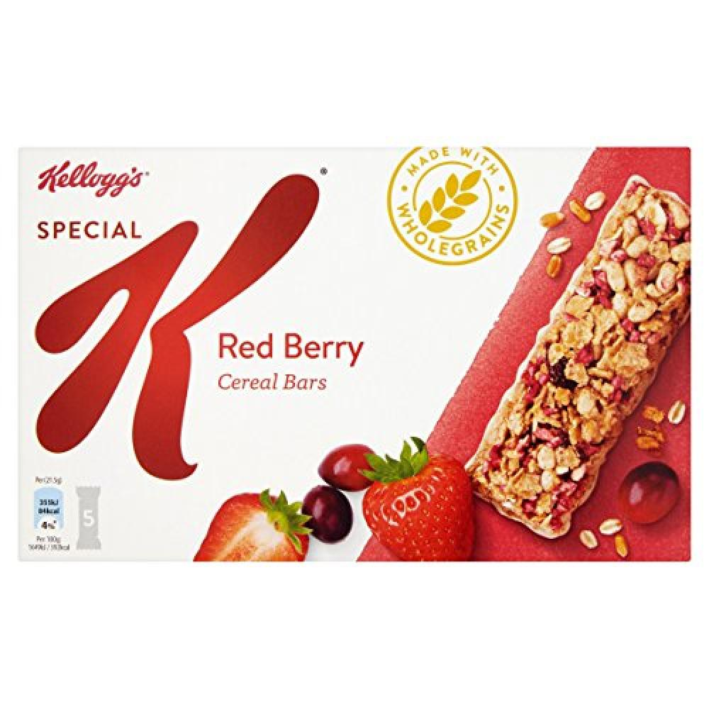 Kelloggs Special K Red Berries Cereal Bars Pack of 5