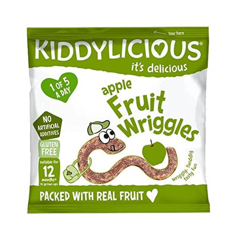 Kiddylicious Apple Wriggles 12g