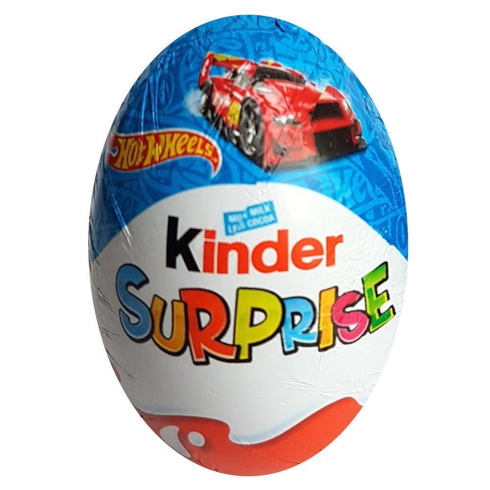 Kinder Surprise Egg Hot Wheels 20g