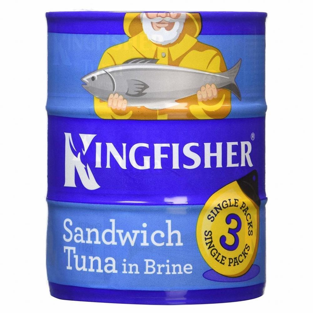 Kingfisher Sandwich Tuna 160g x 3