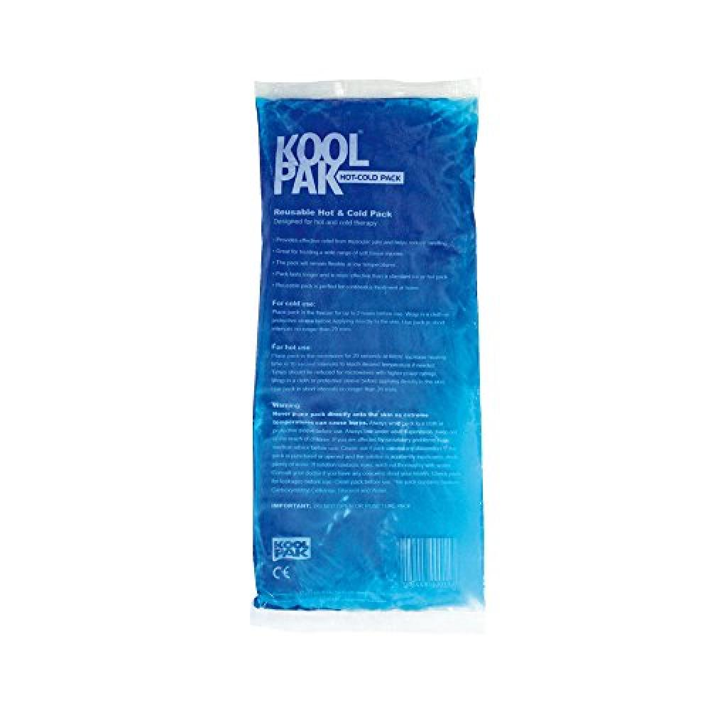 Koolpak Reusable Hot and Cold Gel Pack Medium - 13cm x 28cm