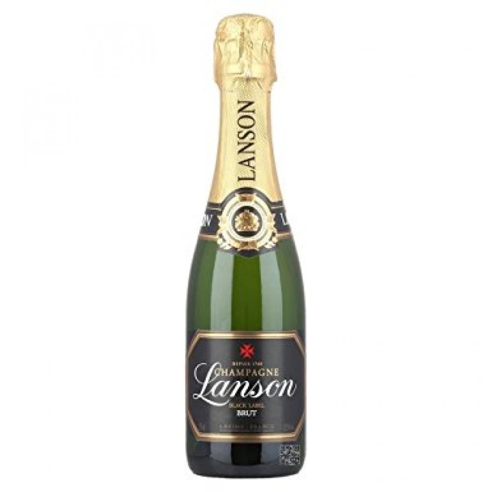 Lanson Black Label Brut Champagne NV Half Bottle 37.5cl