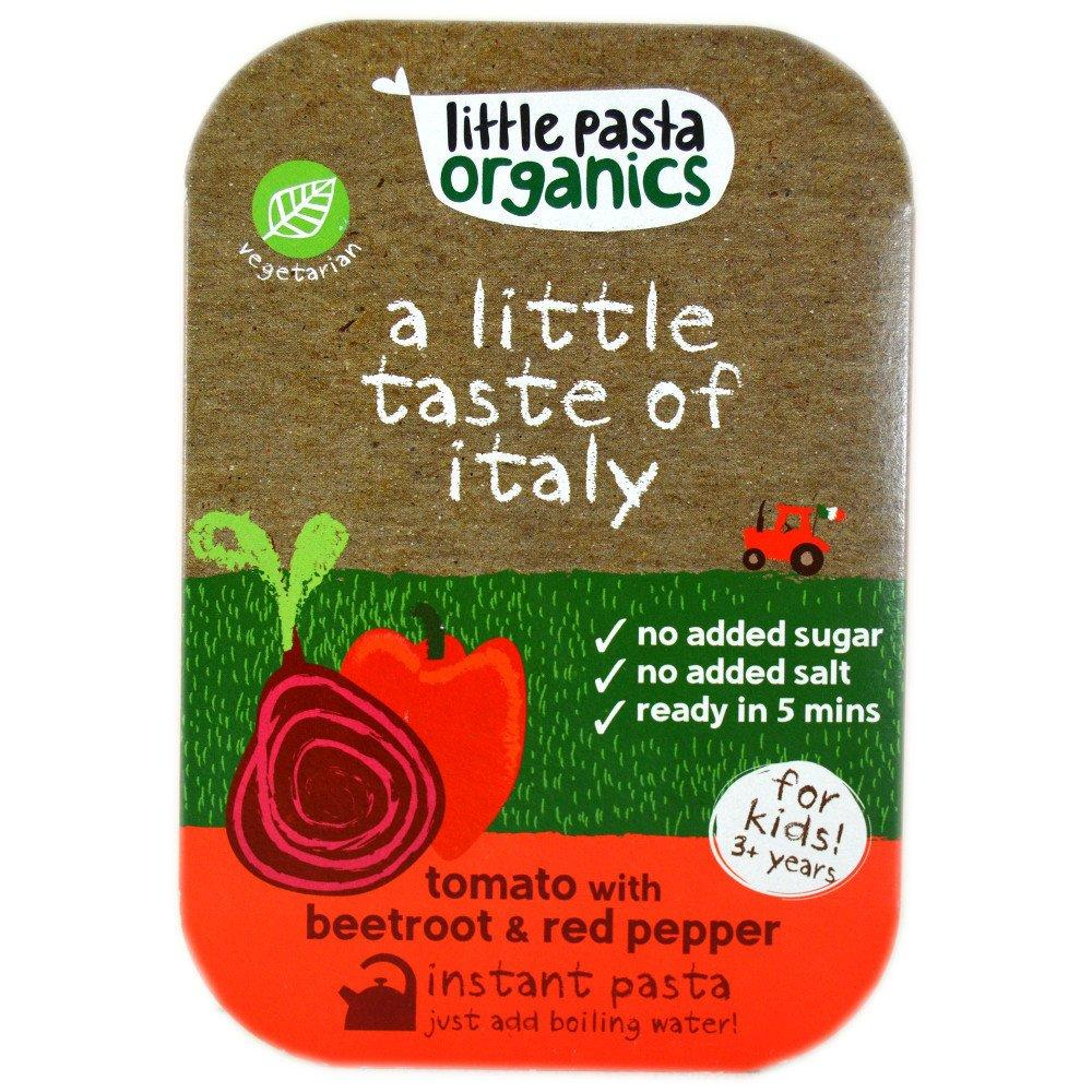 FURTHER REDUCTION  Little Pasta Organics Tomato with Beetroot and Red Pepper 45g