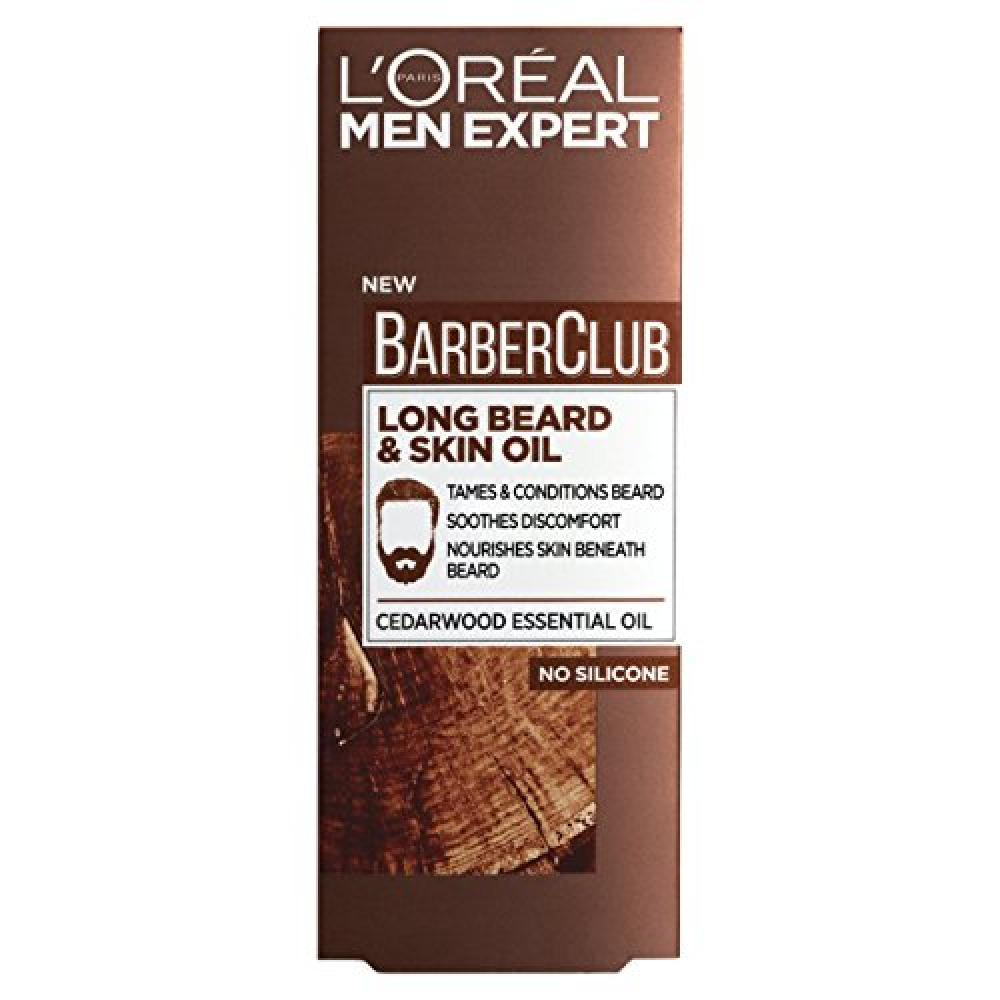 LOreal Men Expert Barber Club Long Beard and Skin Oil 30 ml