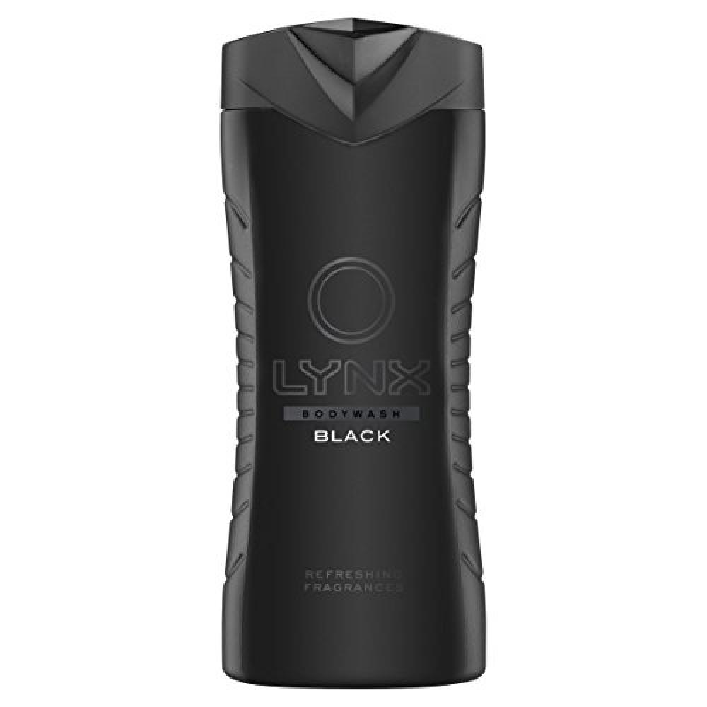 Lynx Black Shower Gel 400ml