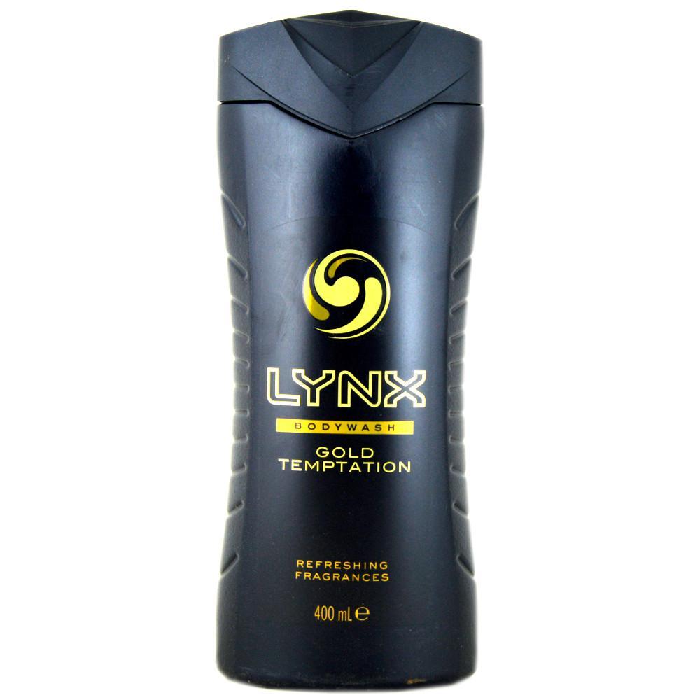 Lynx Gold Temptation Bodywash 400ml