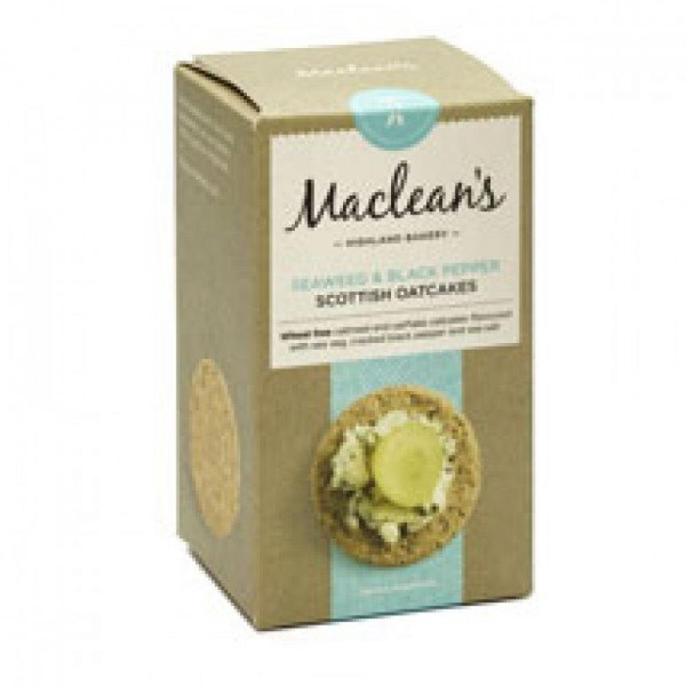 Macleans Seaweed and Black Pepper Scottish Oatcakes 150g