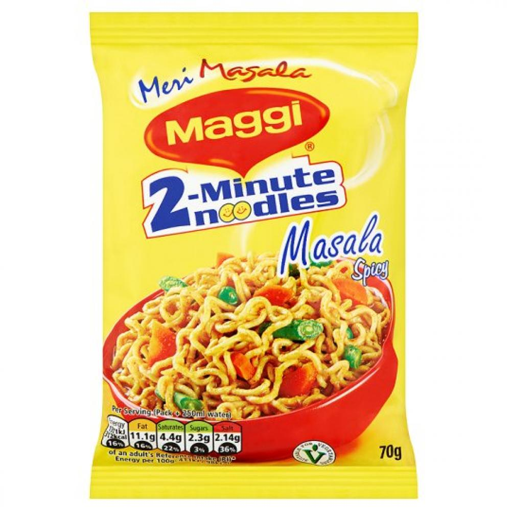 Maggi 2 Minute Masala Spicy Noodles 70g