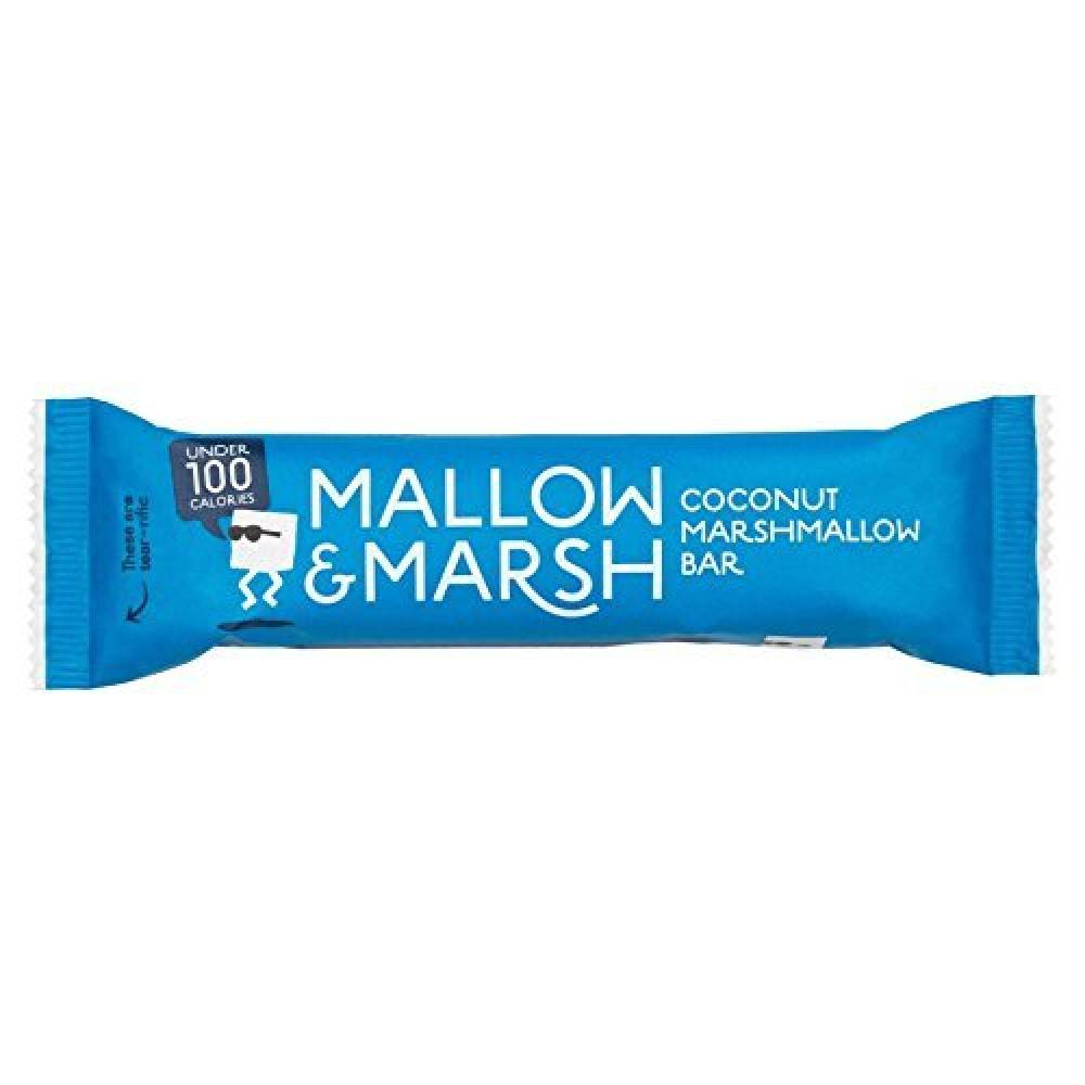 Mallow and Marsh Coconut Marshmallow Bar 25g