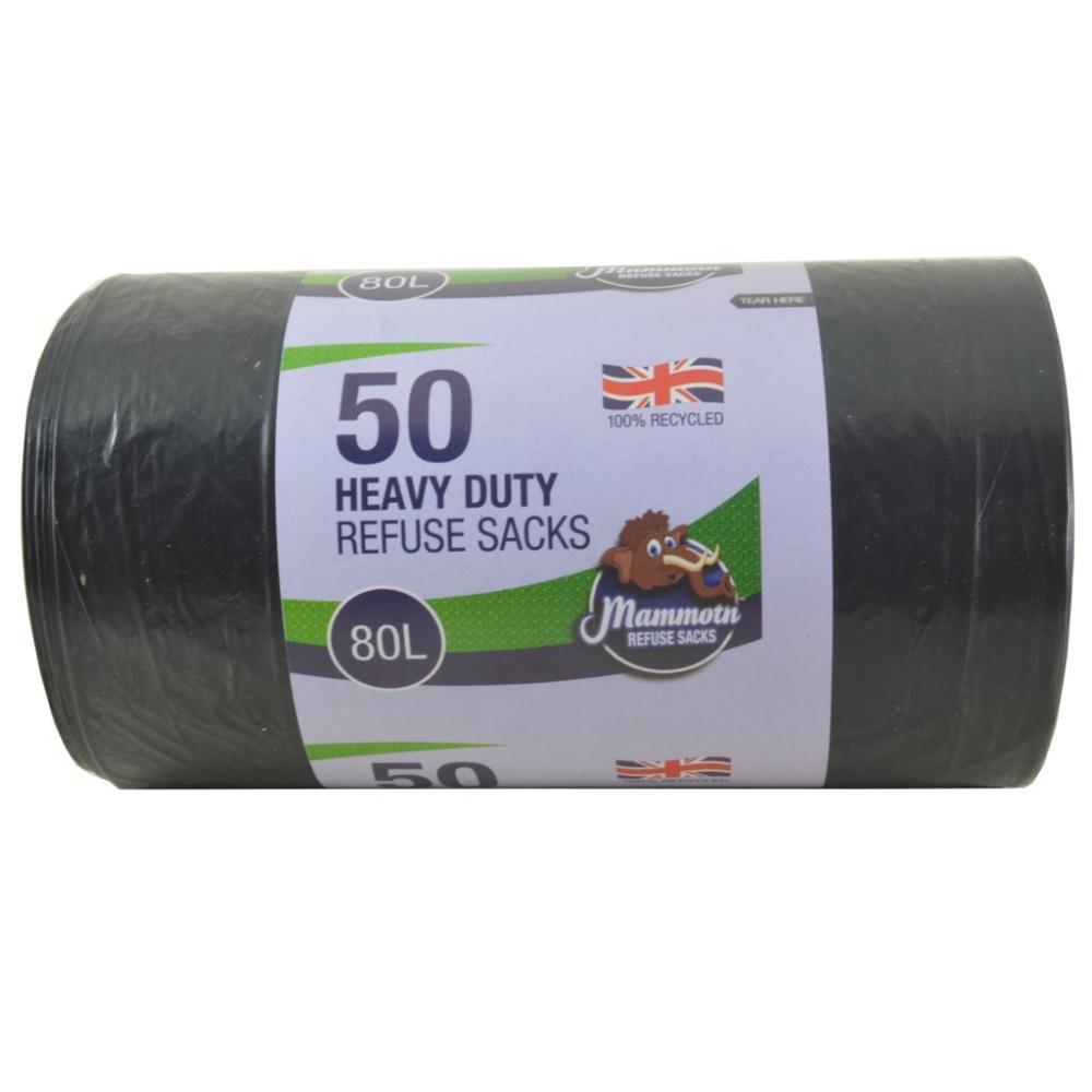 Mammoth 50 Heavy Duty Refuse Sacks