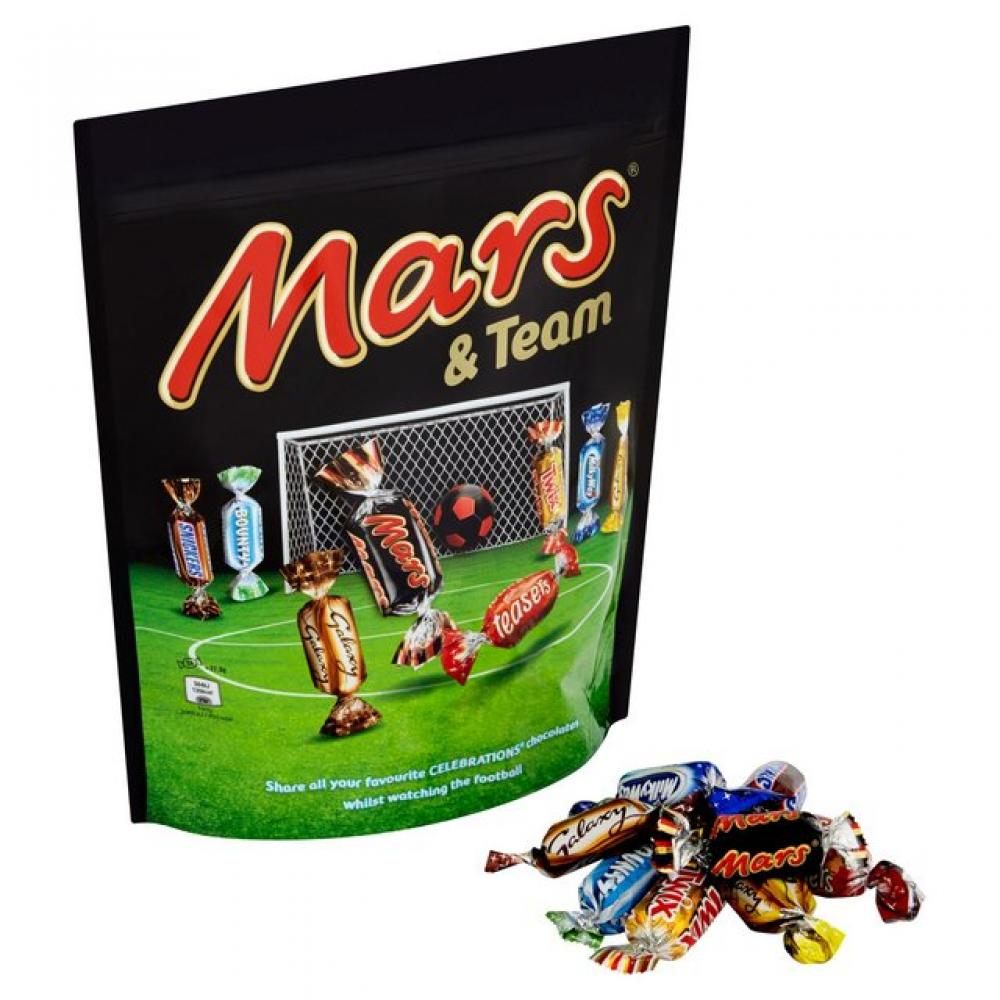 Mars and Team Selection 450g