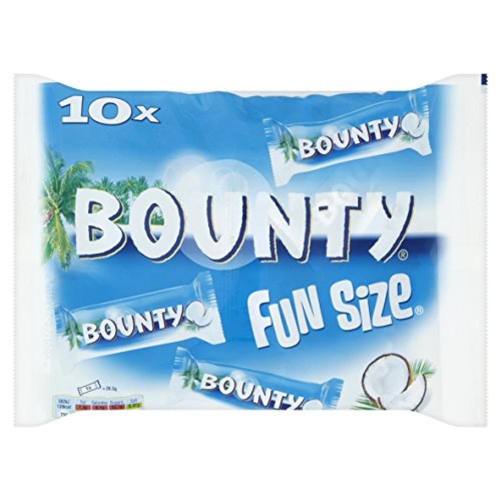 Mars Chocolate Bounty Milk Fun Size Bag 303 g