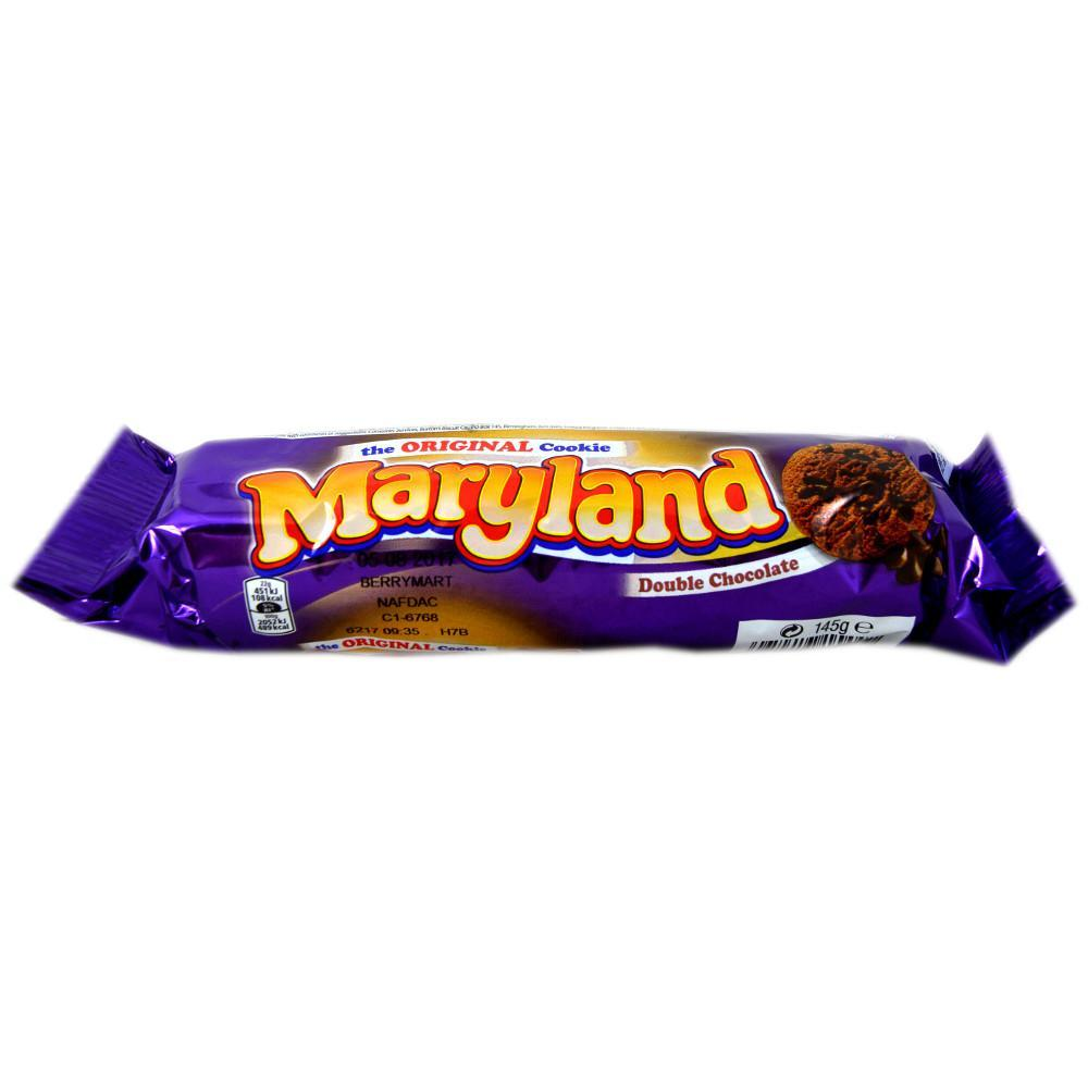 Maryland Double Choc Chip Cookies 145g