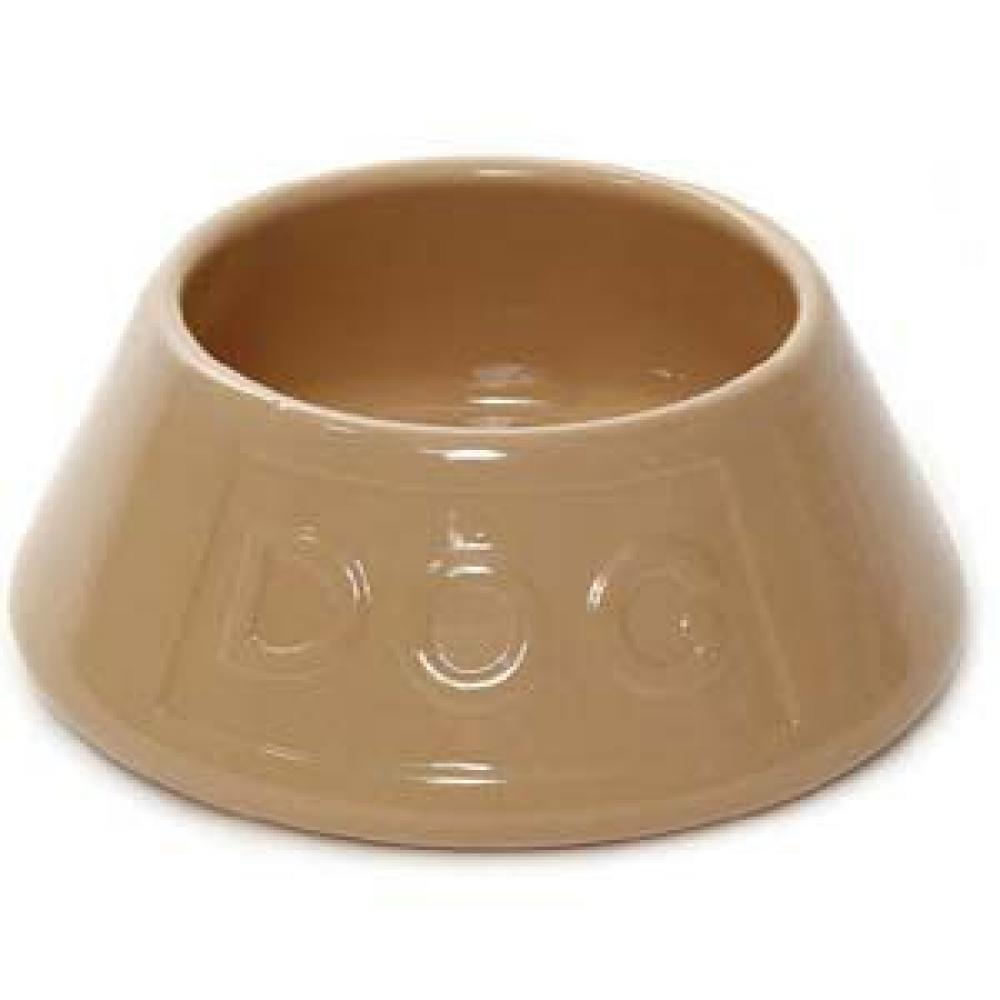 Mason Cash Non-Tip Lettered Dog Bowl