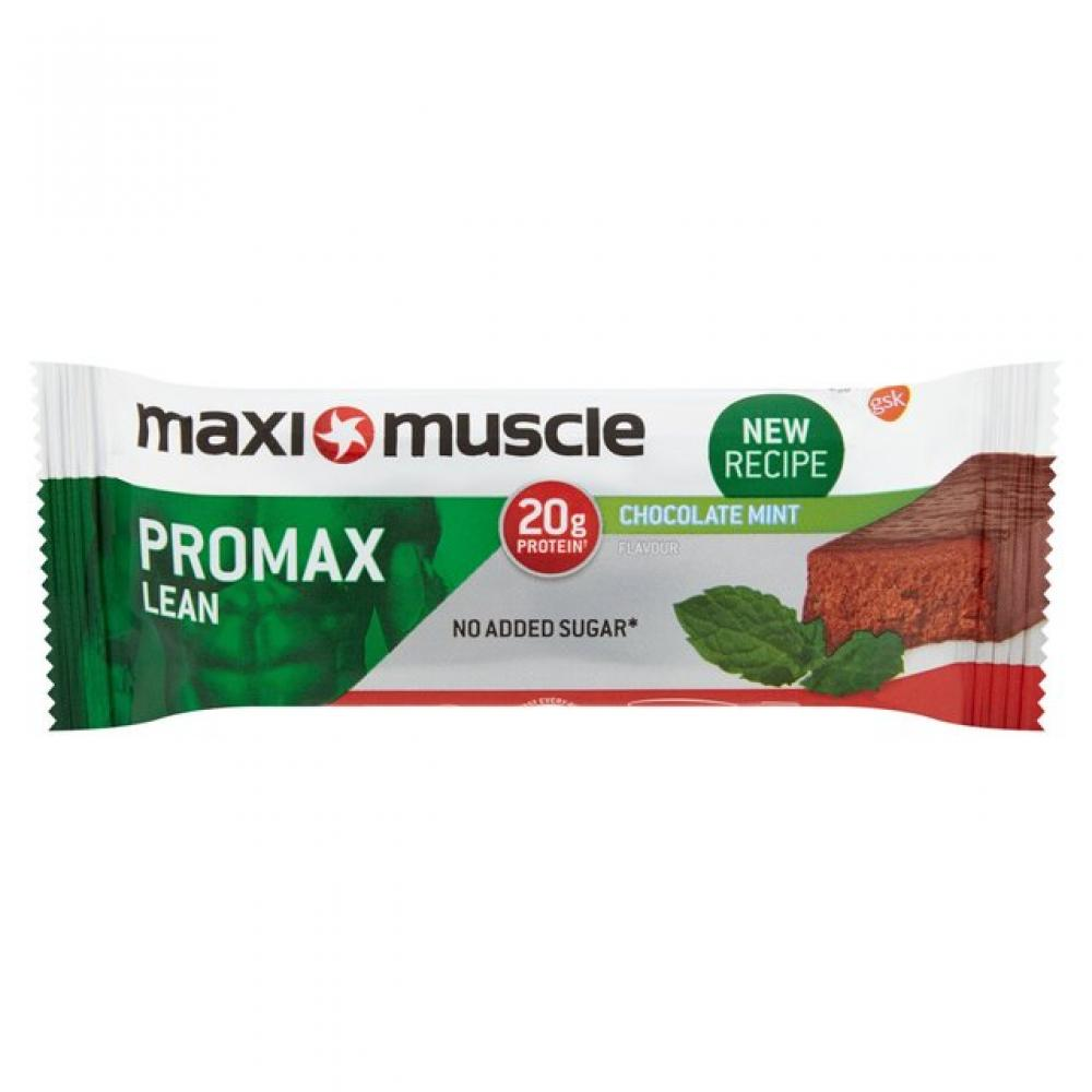 Maxi Muscle Promax Lean High Protein Bar Chocolate Mint Flavour 60 g