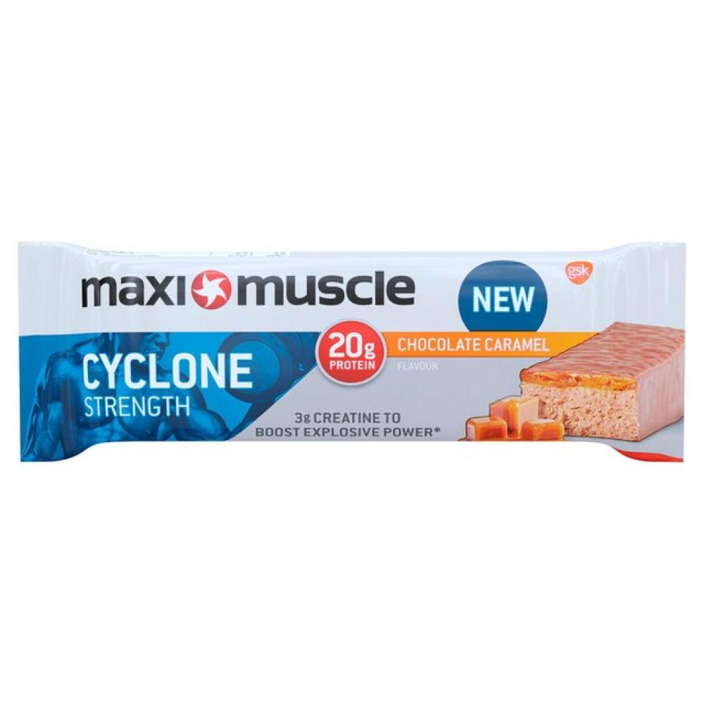Maximuscle Cyclone Strenght Chocolate Caramel Protein Bar 60g