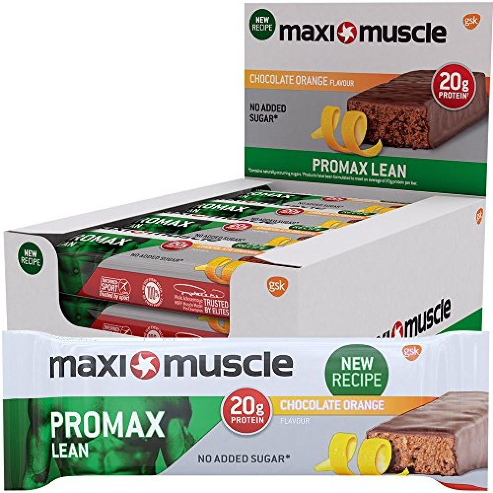 Maximuscle Promax Lean Chocolate Orange Flavour Bar 60g