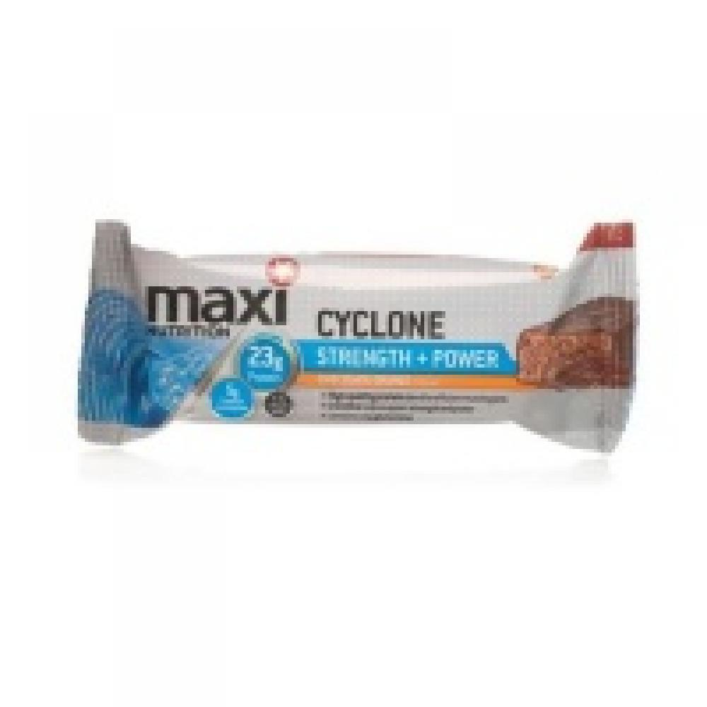 MaxiNutrition Cyclone Strength and Power Bars - Chocolate Orange 60 g