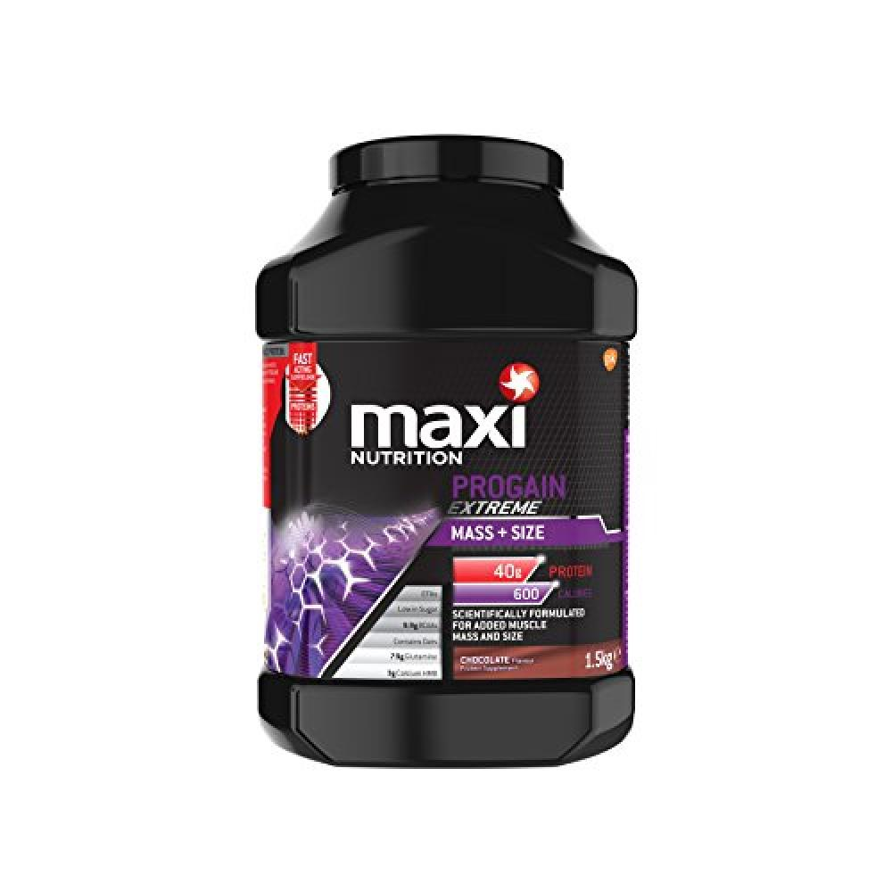 MaxiNutrition Progain Extreme Mass and Size Protein Shake Powder Chocolate Flavour 1.5kg