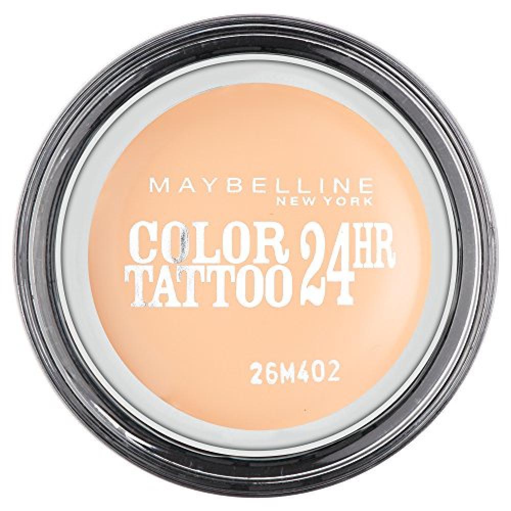 Maybelline Color Tattoo 24HR Gel-Cream Eyeshadow 93 Creme De Nude