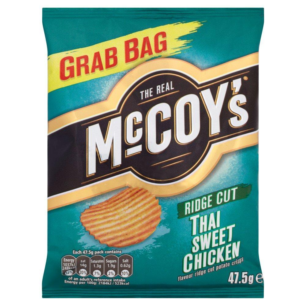 Mccoys Thai Sweet Chicken Flavour Crisps 47.5g