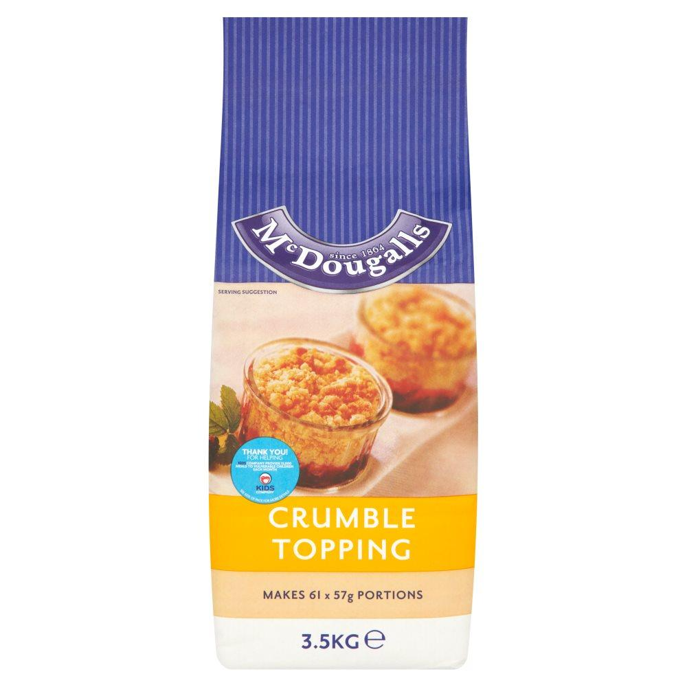 Mcdougalls Crumble Topping 3.5kg
