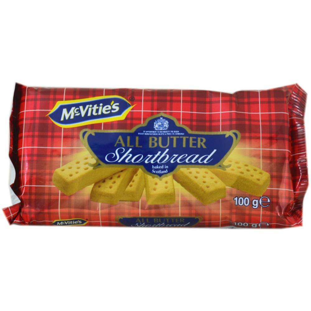 McVities All Butter Shortbread 100g