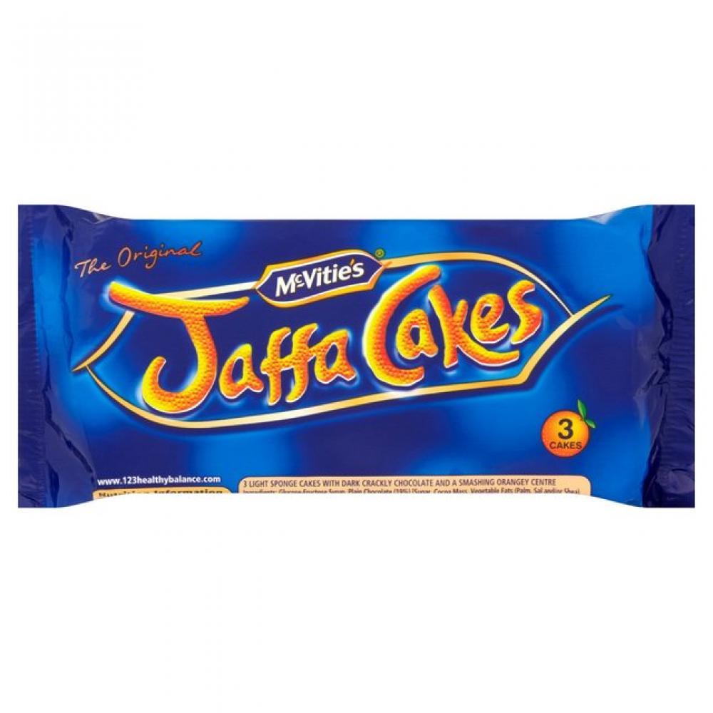McVities Jaffa Cakes 3 pack