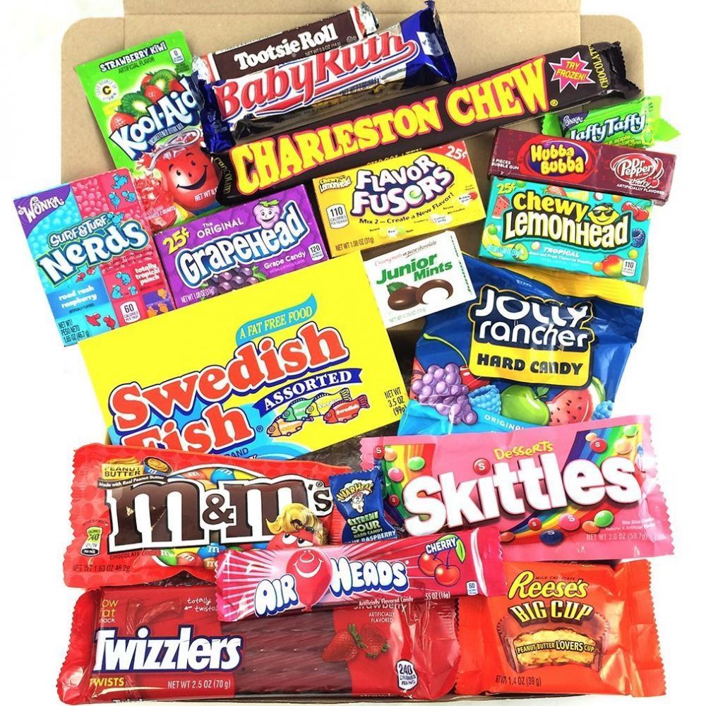 Heavenly Sweets Medium American Sweet Hamper