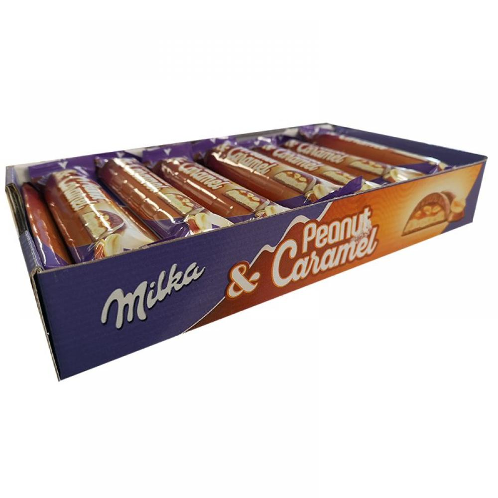 CASE PRICE  Milka Peanut and Caramel 24 x 37g