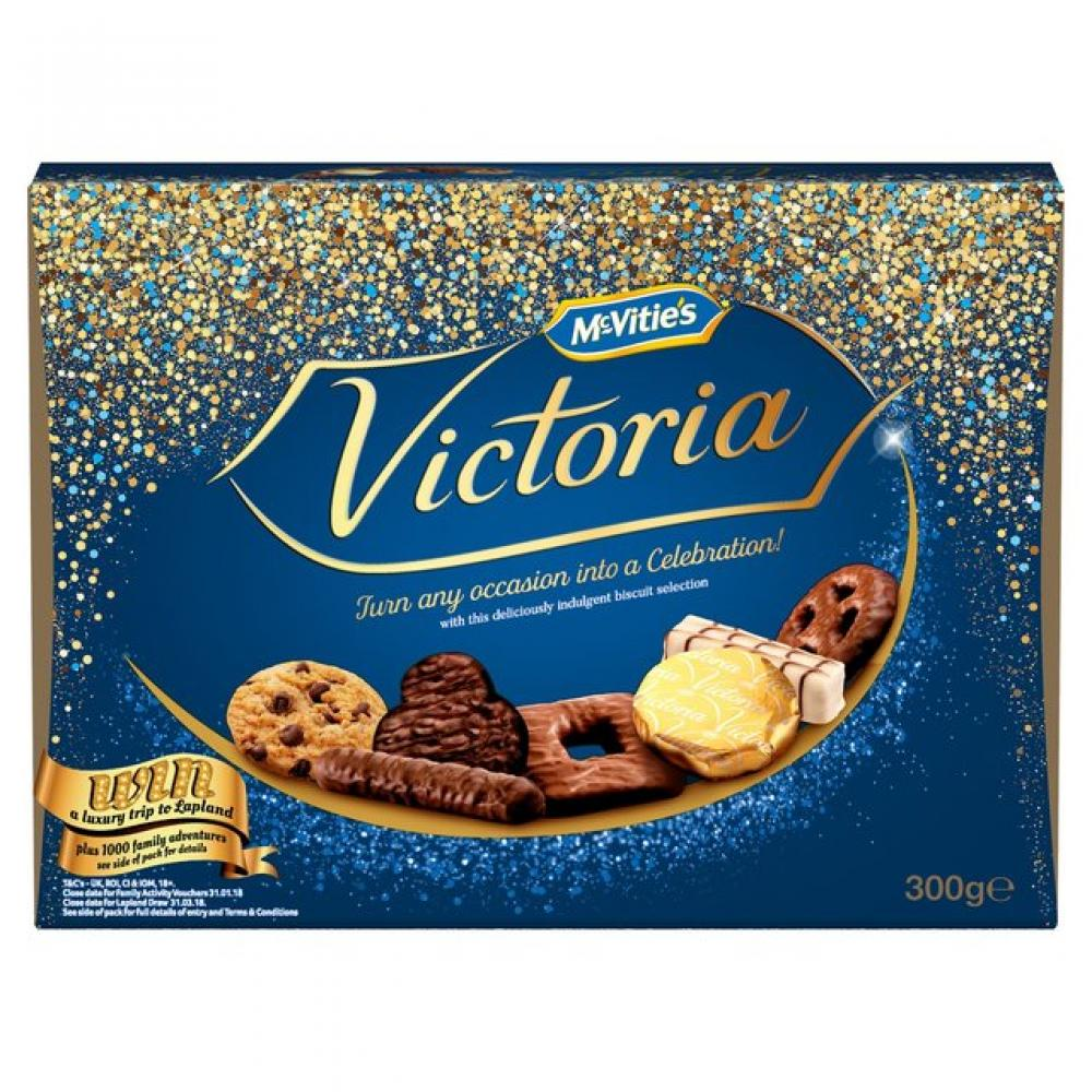 McVities Victoria Biscuit Selection 600g