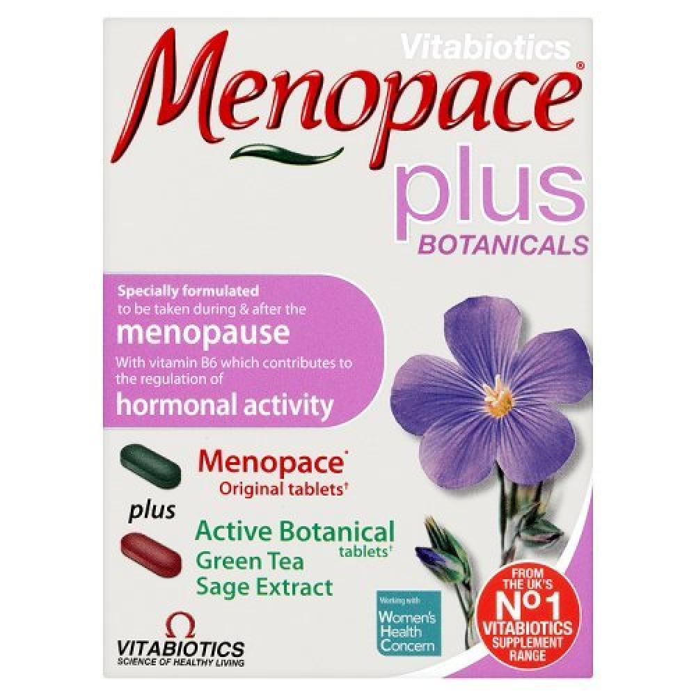 Vitabiotics Menopace Plus - 56 Tablets