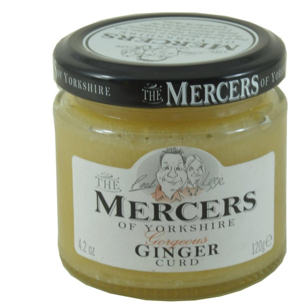 Mercers Ginger Curd 120g