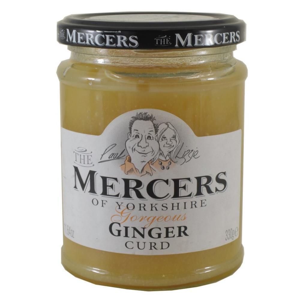 Mercers Ginger Curd 330g