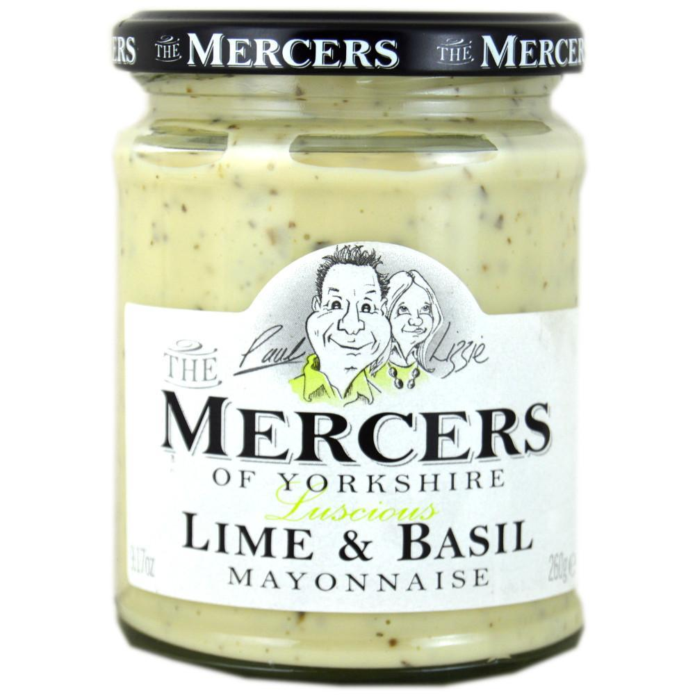 Mercers Lime and Basil Mayonaise 260g
