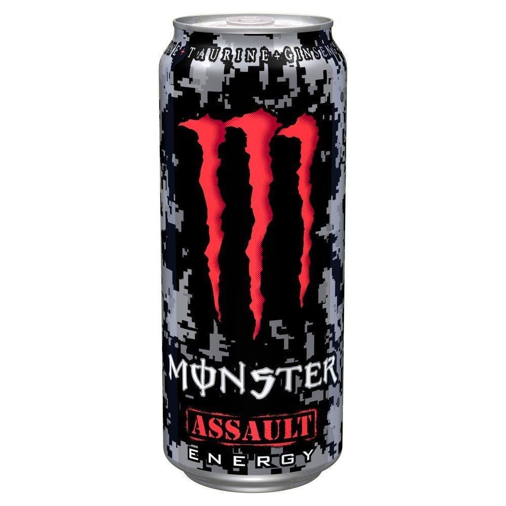 Monster Assault Energy Drink 500ml