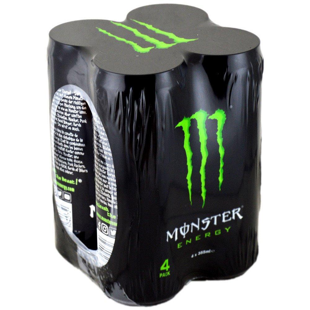 Monster Energy 355ml x 4
