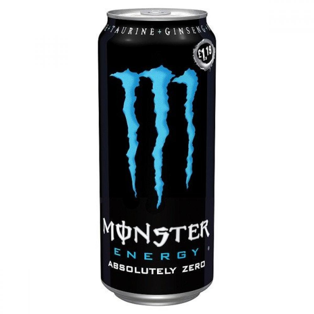 Monster Energy Absolutely Zero 500ml