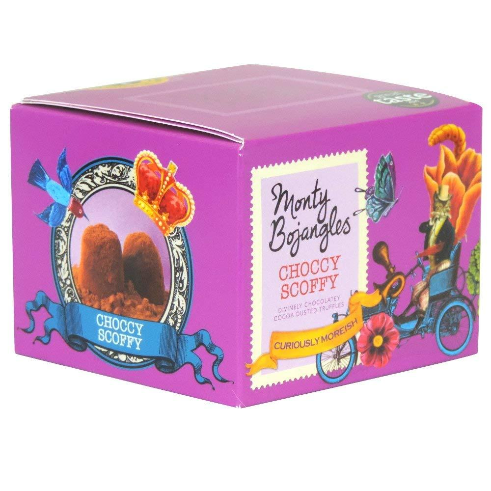 Monty Bojangles Choccy Scoffy Cocoa Dusted Truffle 100g