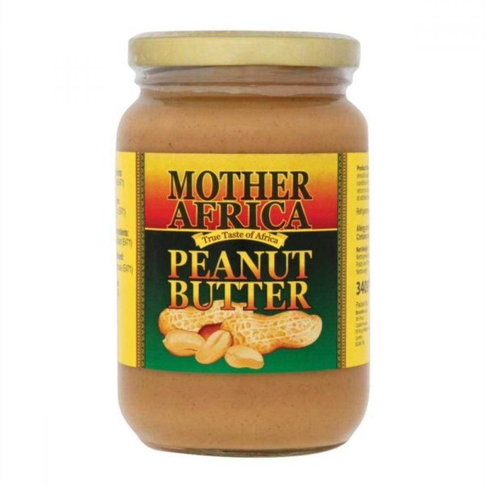 Mother Africa Peanut Butter 340g