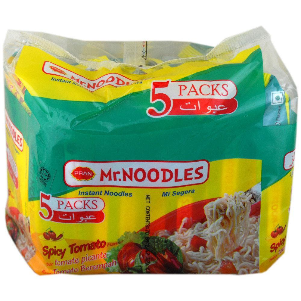 Mr Noodles Spicy Tomato Flavour Instant Noodles 5 pack