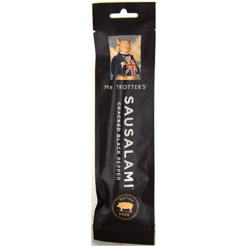 Mr Trotters Cracked Black Pepper Sausalami 35g