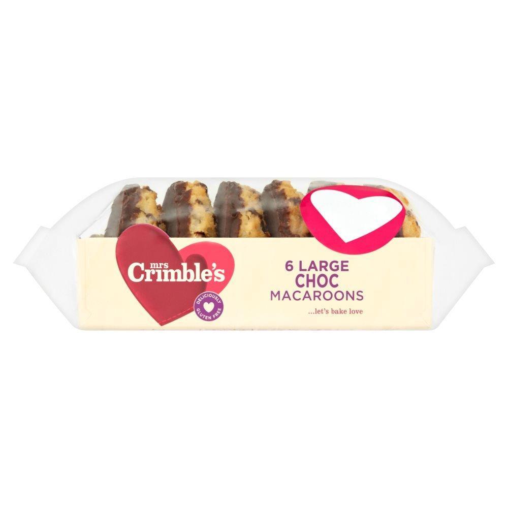 Mrs Crimbles 6 Large Choc Macaroons
