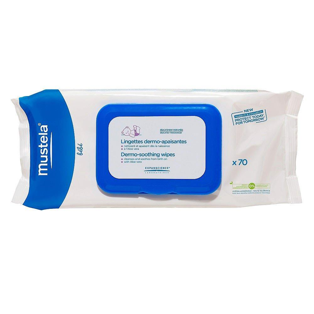 Mustela Dermo Soothing Wipes 70