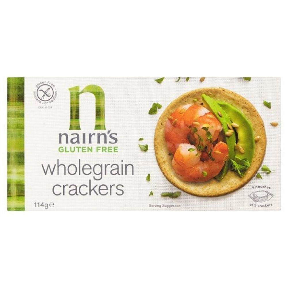 Nairns Gluten Free Wholegrain Crackers 114g
