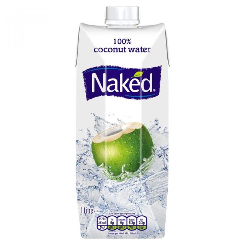 Naked Coconut Water 1l