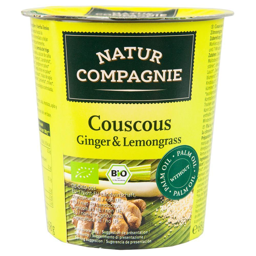 Natur Compagnie Ginger and Lemongrass Couscous 68g