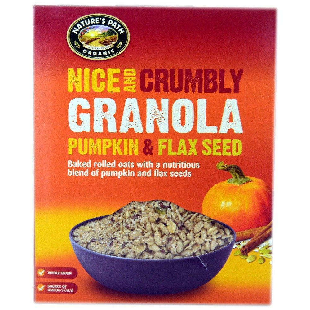 Natures Path Granola Pumpkin and Flax Seed 325g